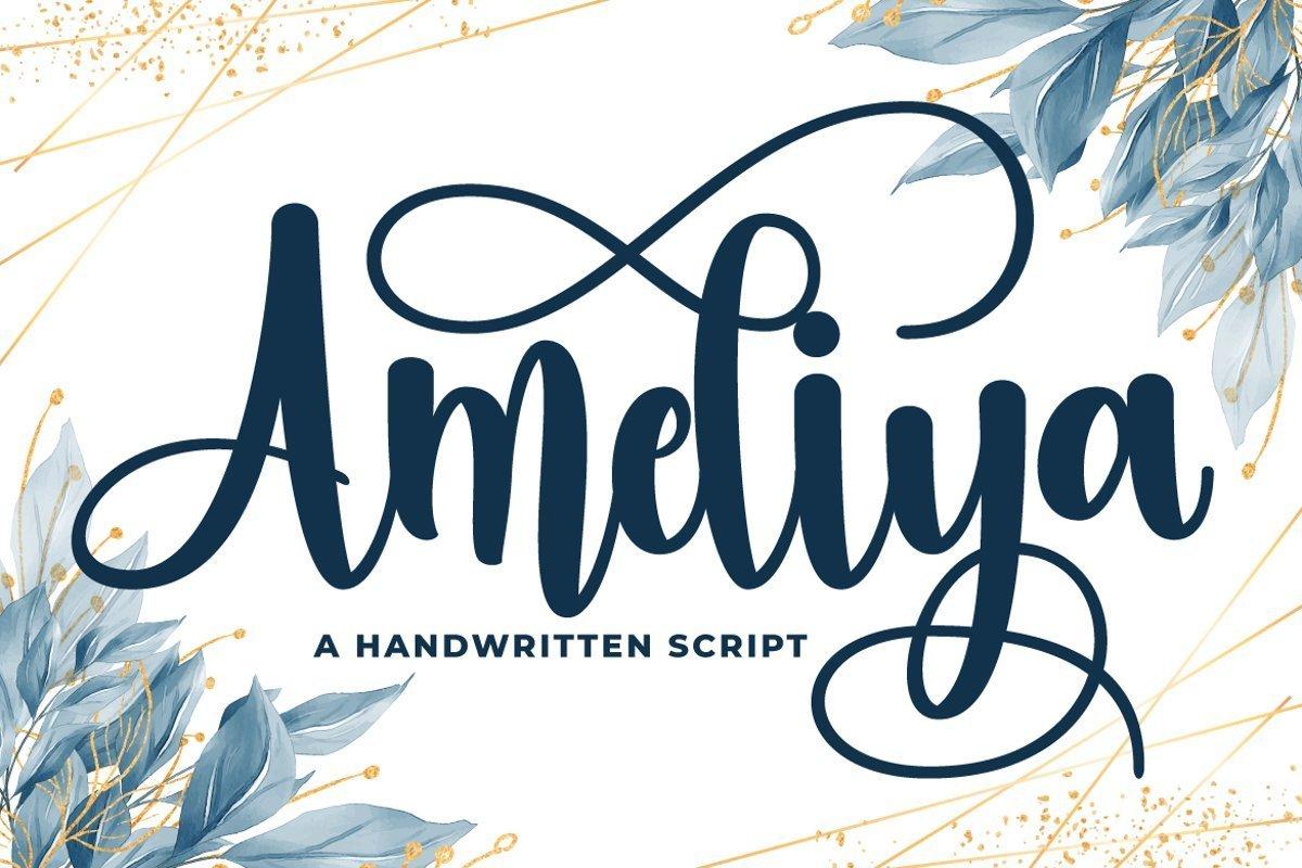 Ameliya-Font