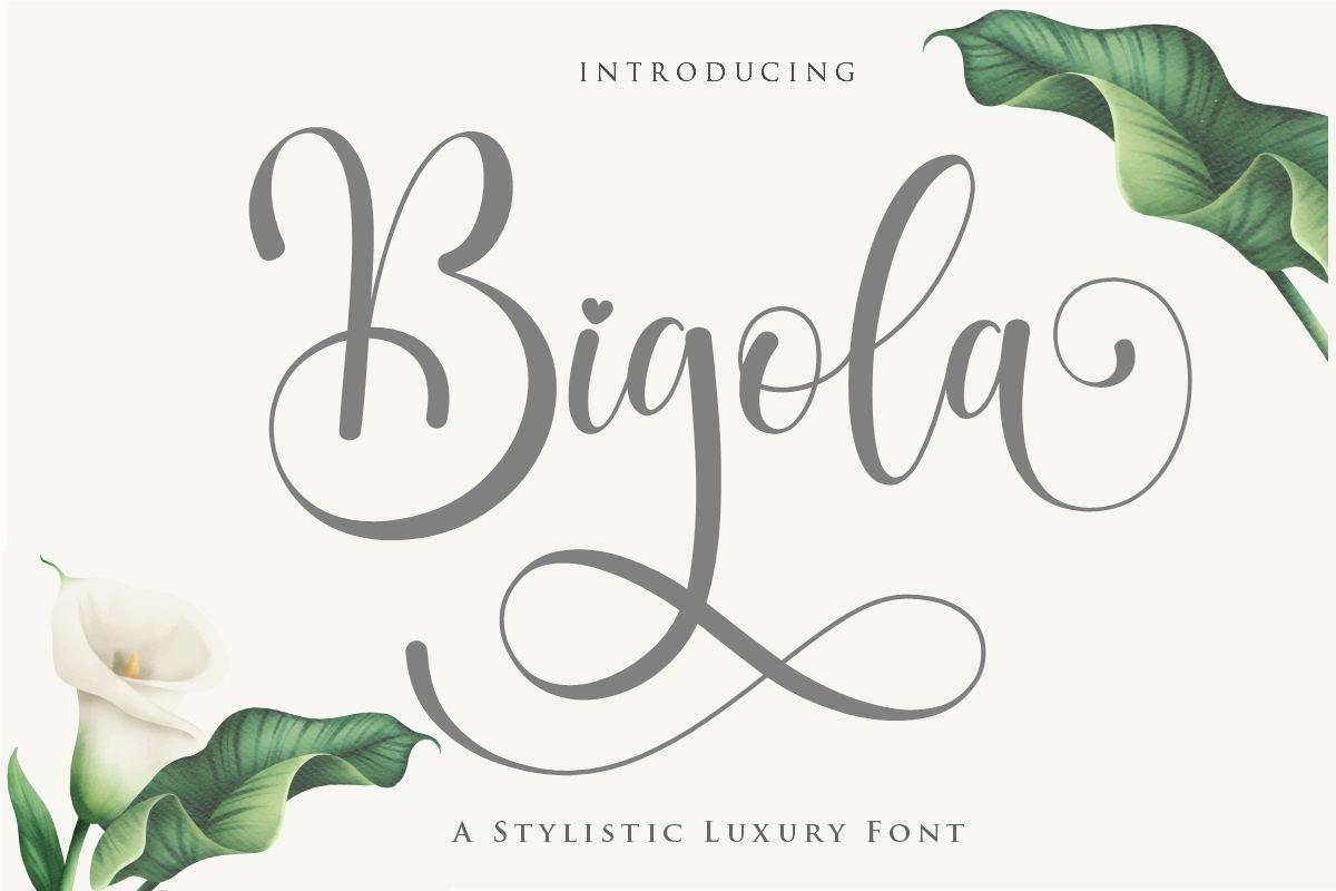 Bigola-Font