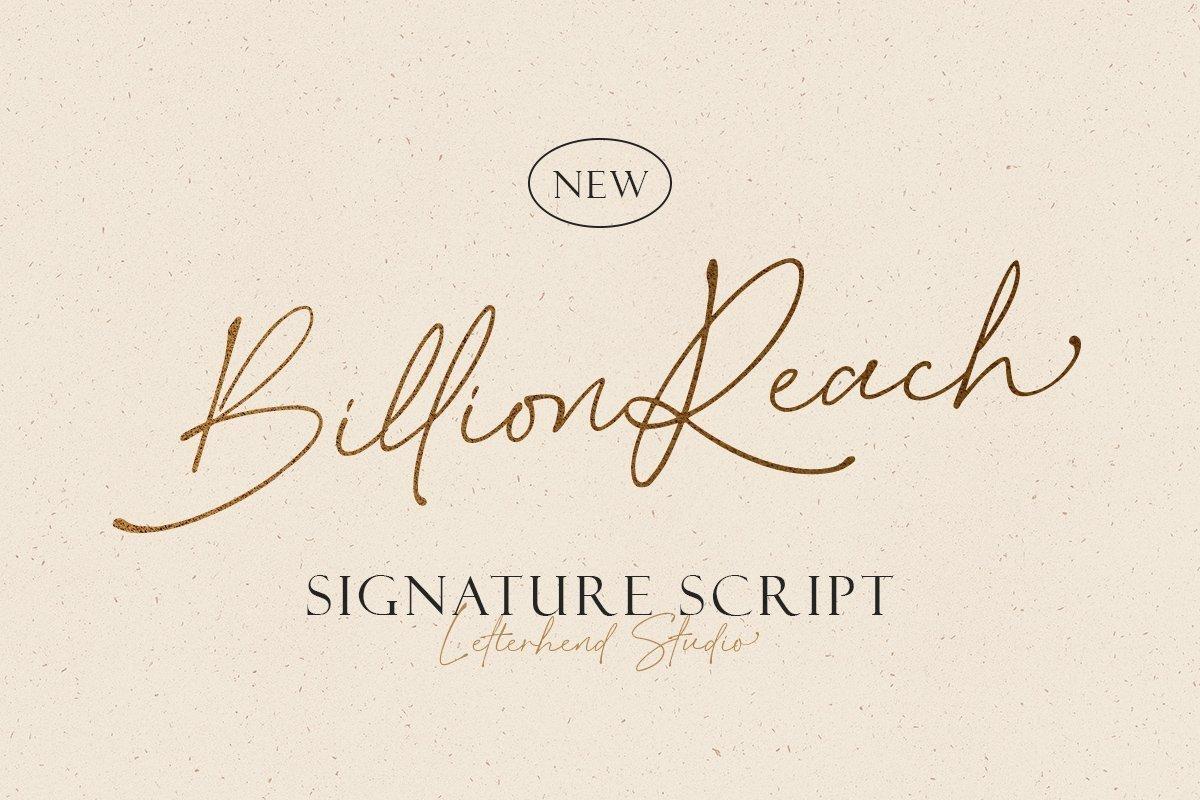 Billion-Reach-Font