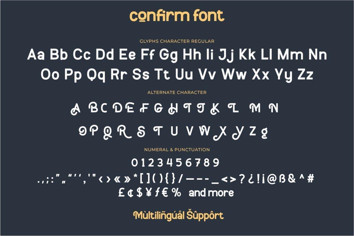 Confirm-Font-3