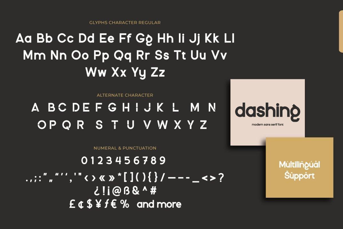 Dashing-Font-3