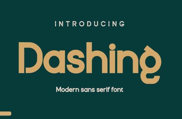 Dashing Font