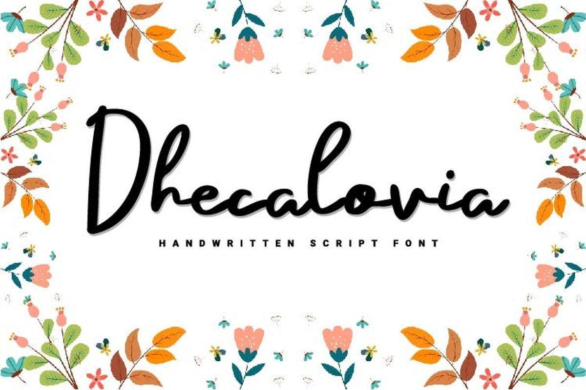 Dhecalovia-Font