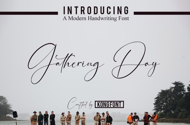 Gathering Day Font