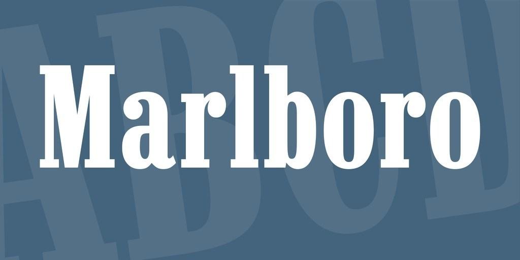 Marlboro-Font