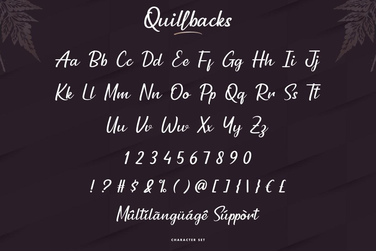 Quillbacks-Font-3