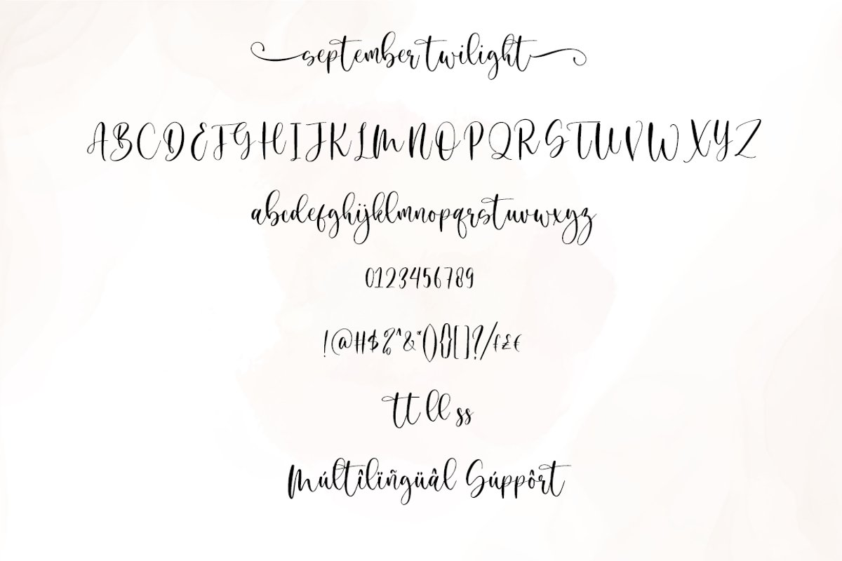 September-Twilight-Font-3
