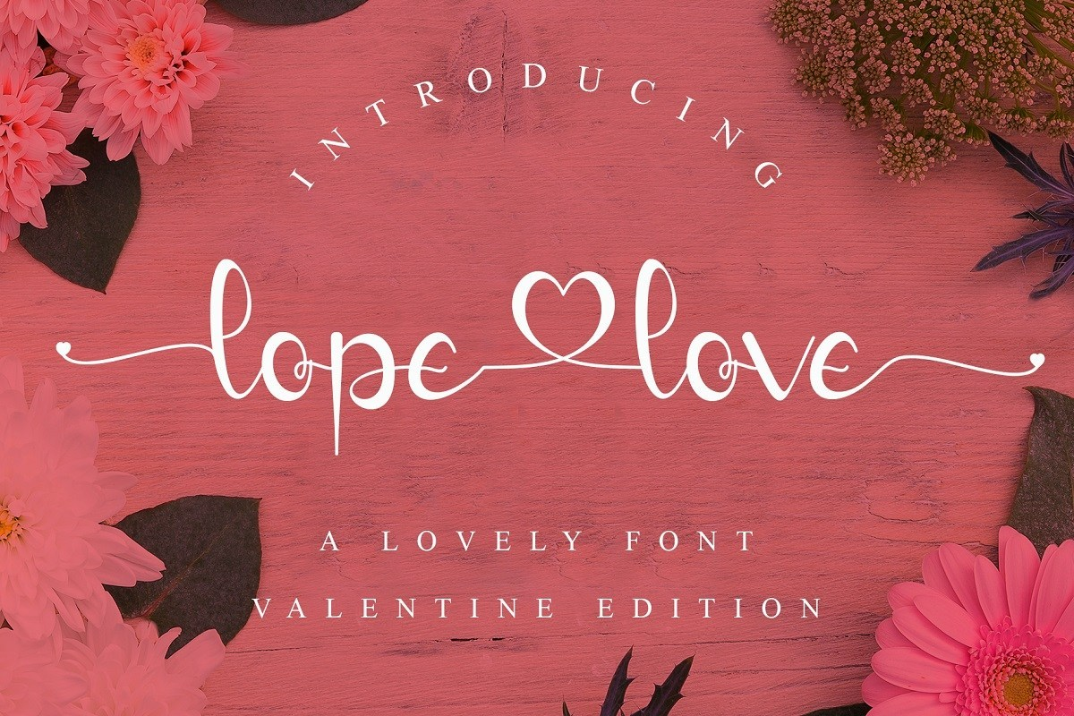 lopelove-Font