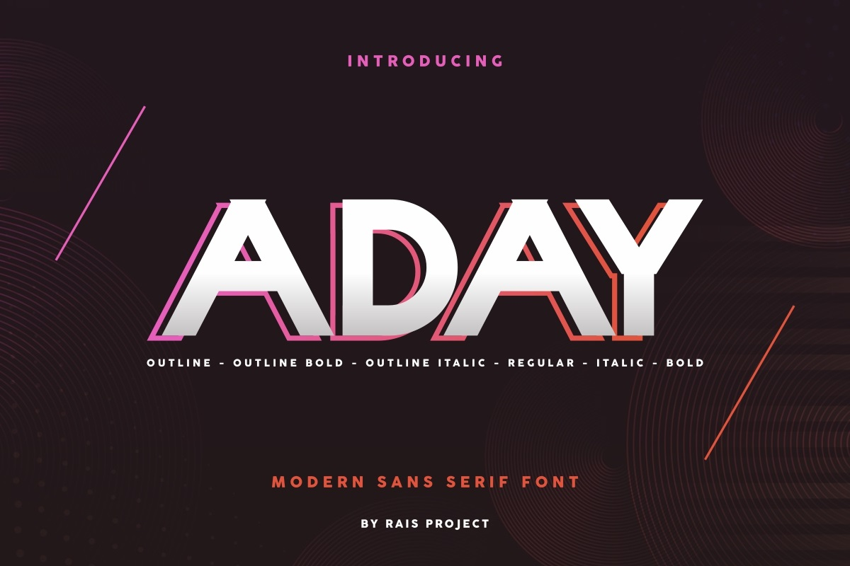 Aday-Font