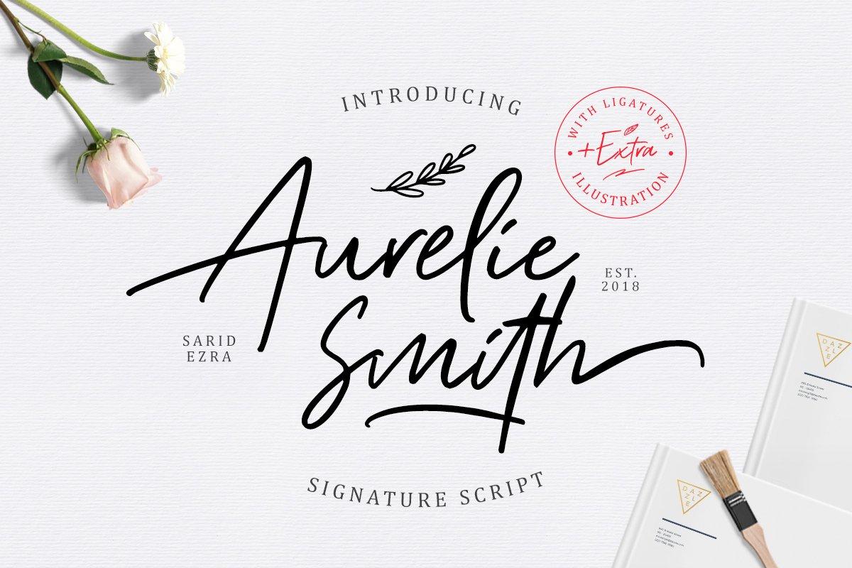 Aurelie-Smith-Font