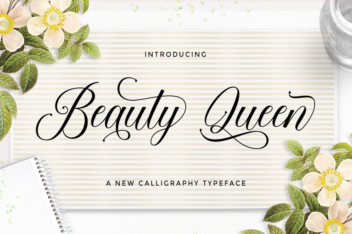 Beauty-Queen-Font