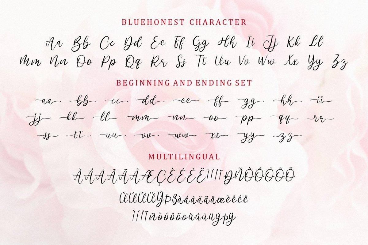 Bluehonest-Font-3