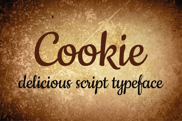 Cookie-Font