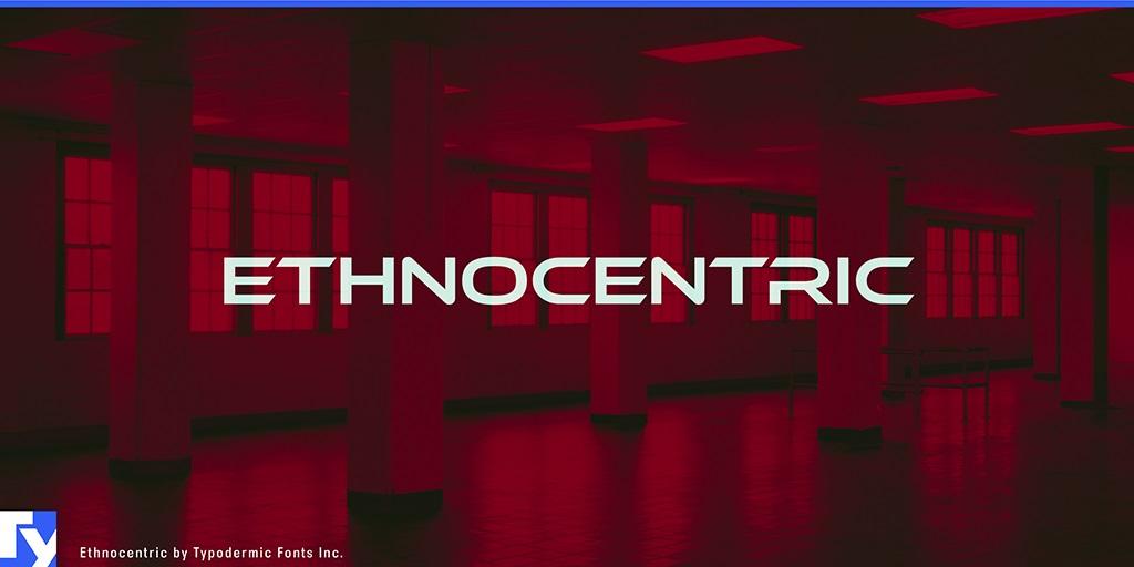 Ethnocentric-Font