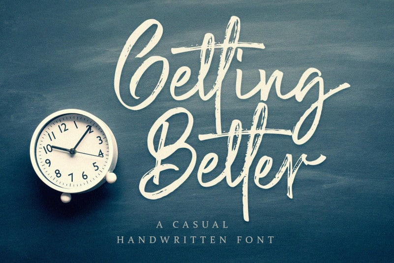 Getting-Better-Font