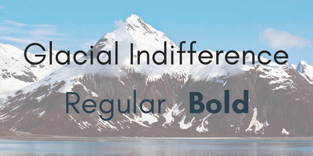 Glacial-Indifference-Font