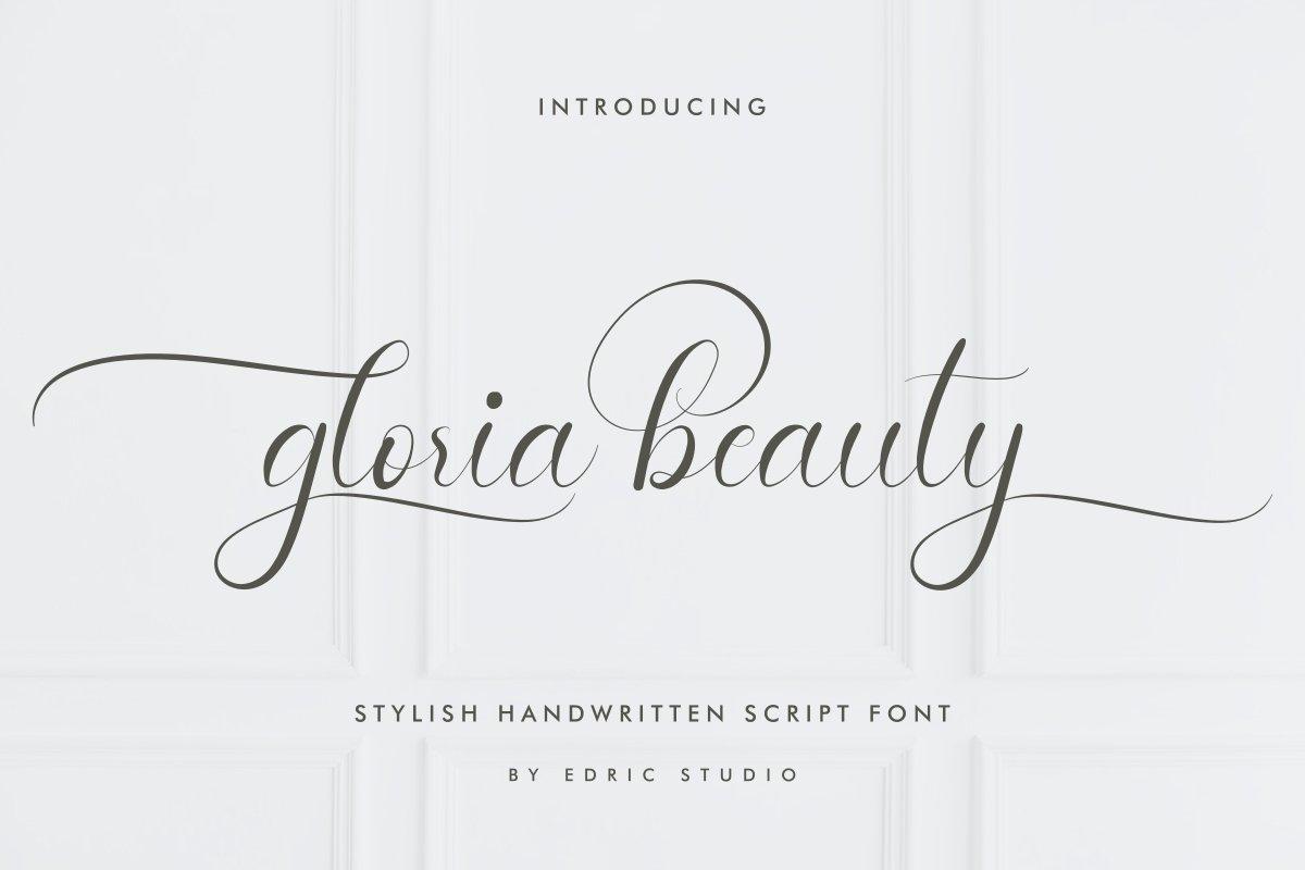 Gloria-Beauty-Font