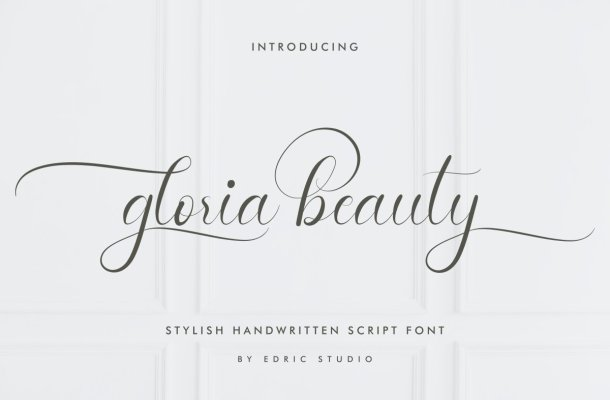 Gloria-Beauty-Font