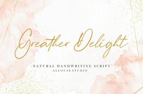 Greather-Delight-Font