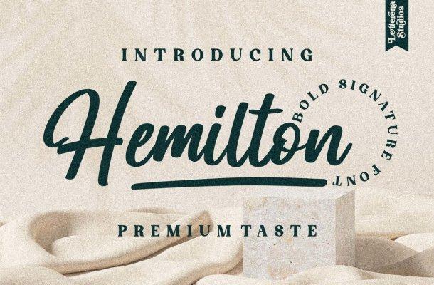 Hemilton-Font