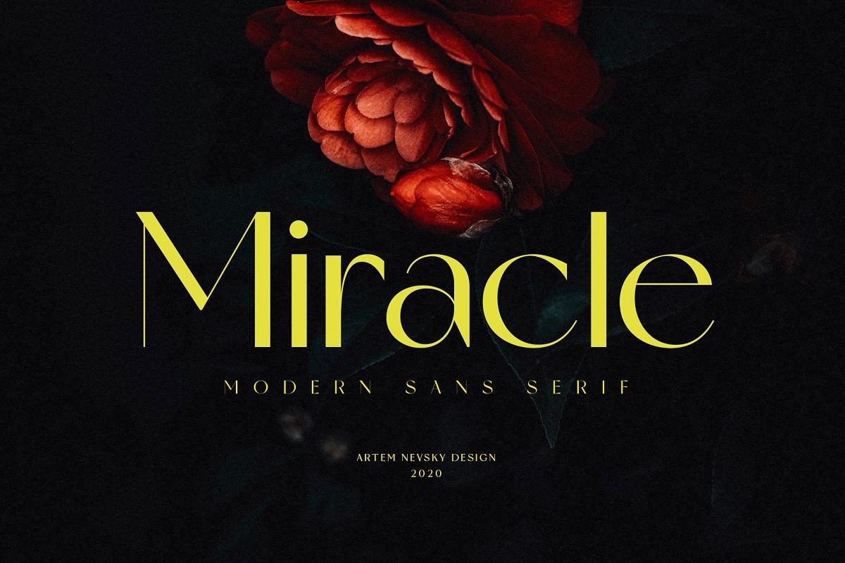 Miracle-Font