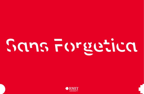 Sans Forgetica Font