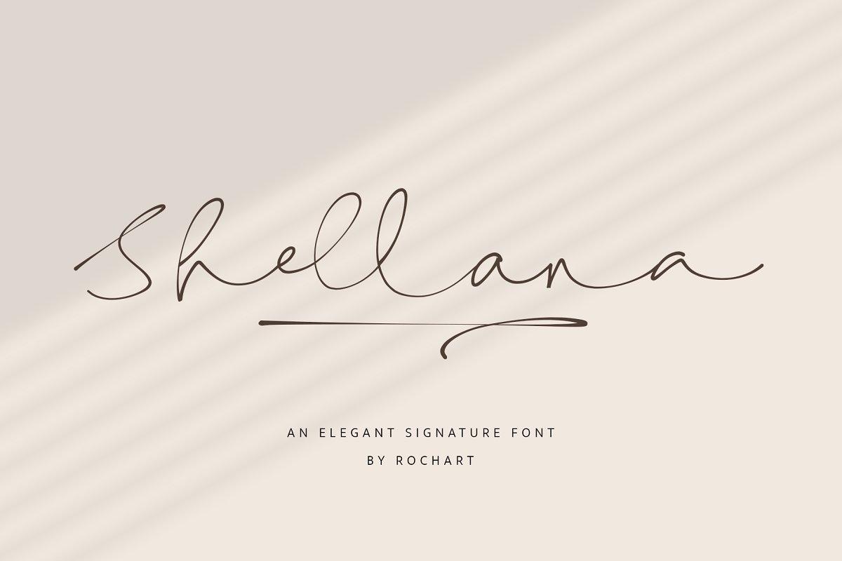 Shellana-Font