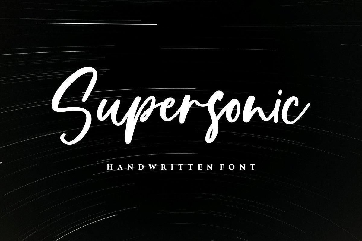 Supersonic-Font
