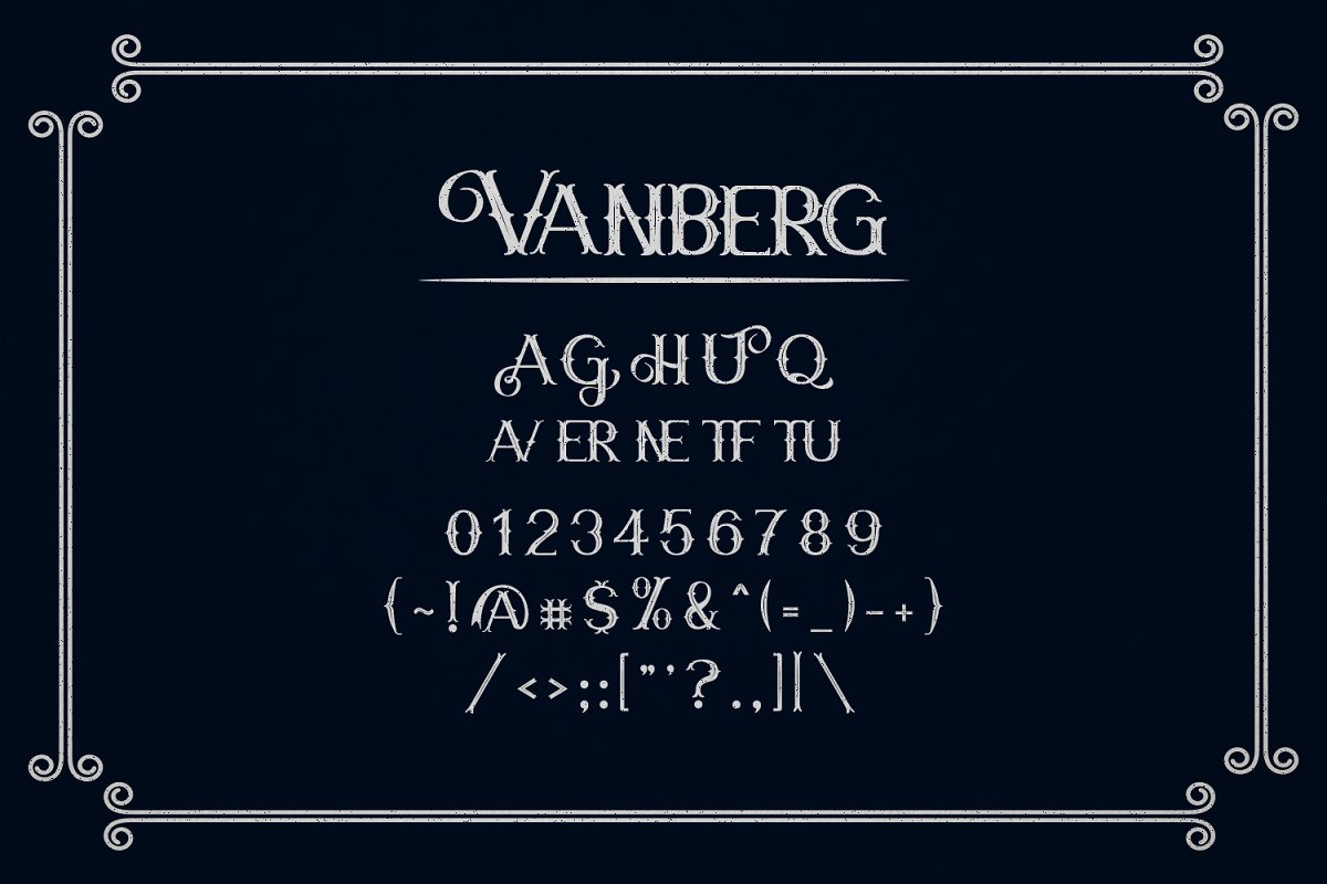 Vanberg-Font-3