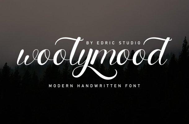 Woolymood-Font