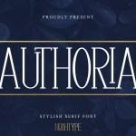 Authoria Font