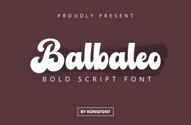 Balbaleo-Font