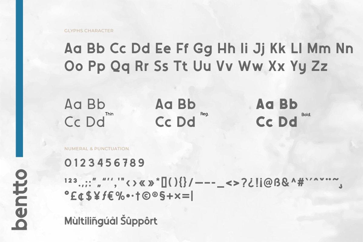Bentto-Font-3