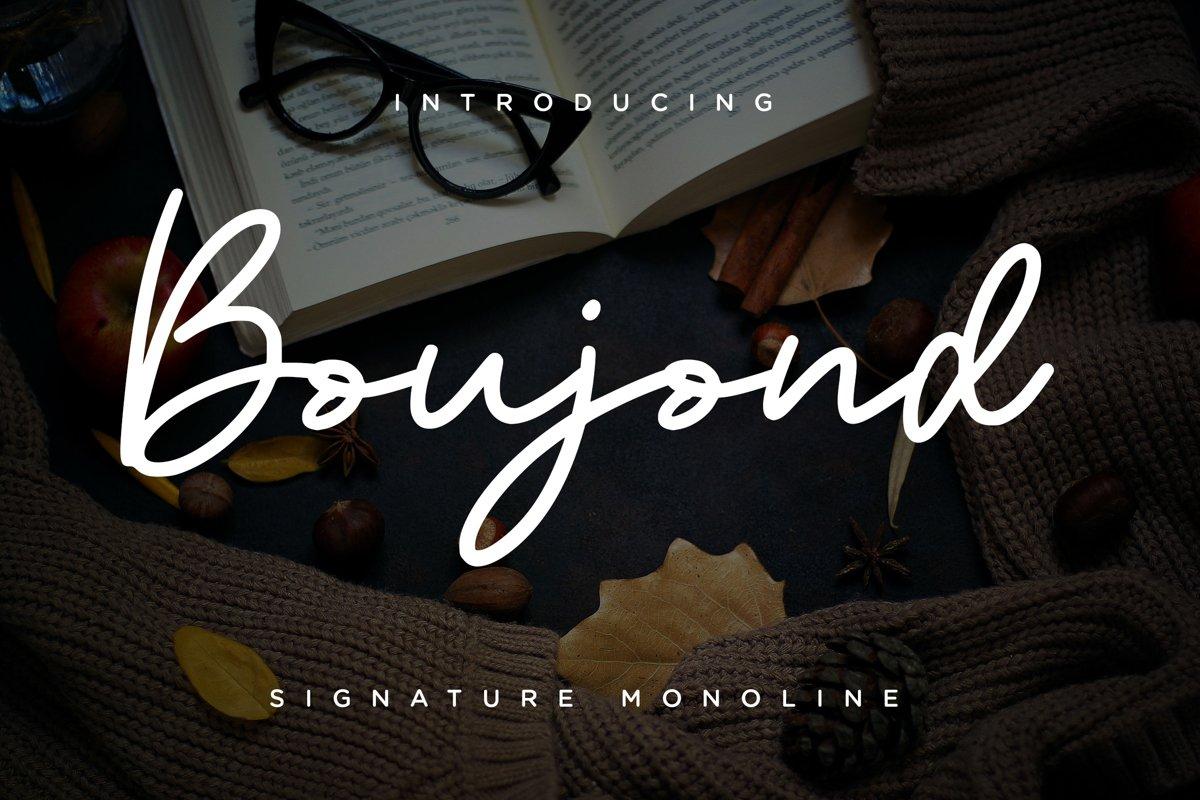 Boujond-Font