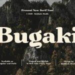 Bugaki Font