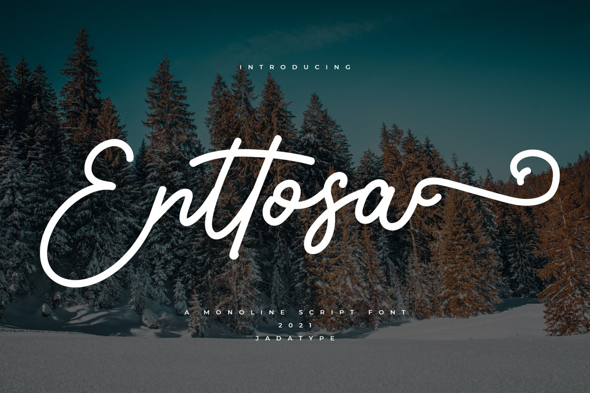 Enttosa-Font