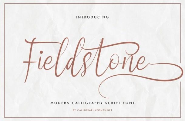 Fieldstone-Font