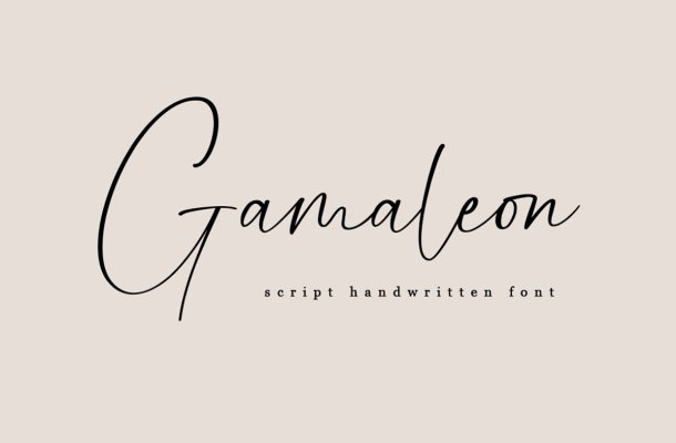 Gamaleon-Font-1