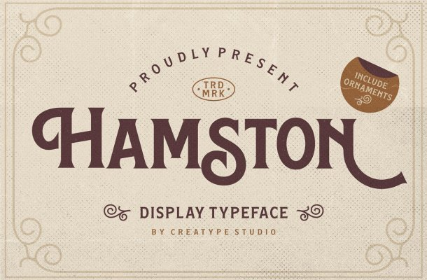 Hamston-Font