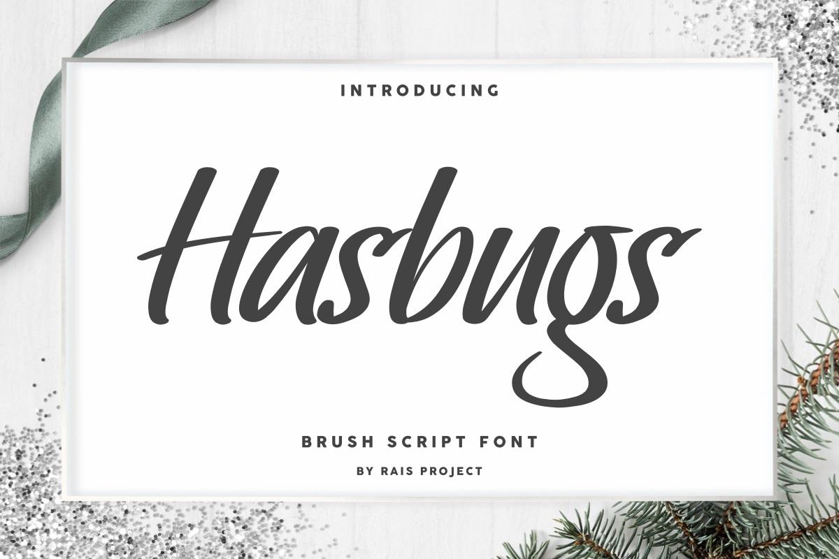Hasbugs-Font