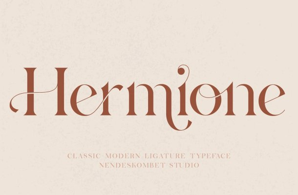 Hermione-Typeface