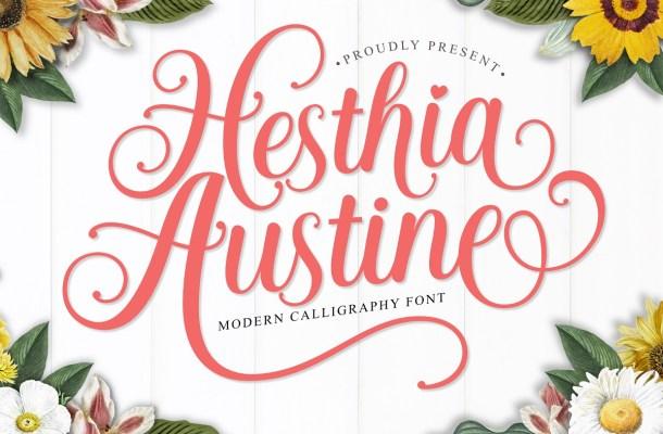 Hesthia-Austine-Font