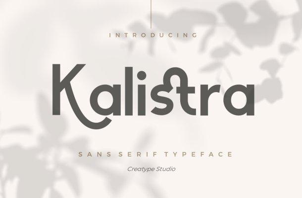 Kalistra Typeface