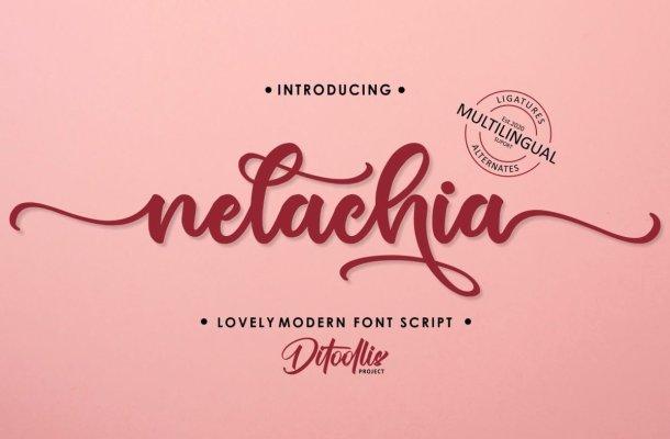 Nelachia-Font
