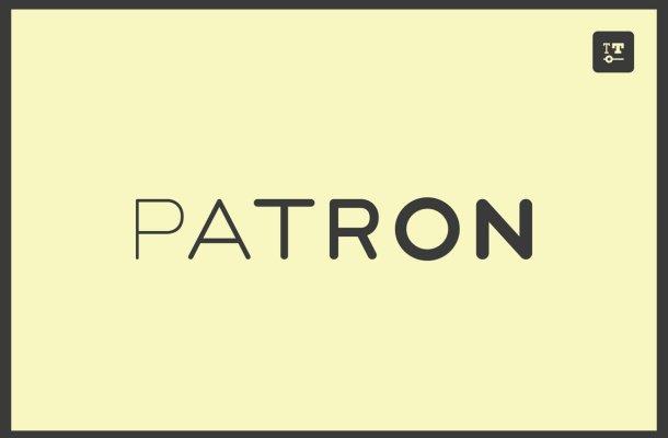 Patron-Font