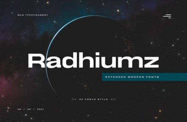 Radhiumz-Font