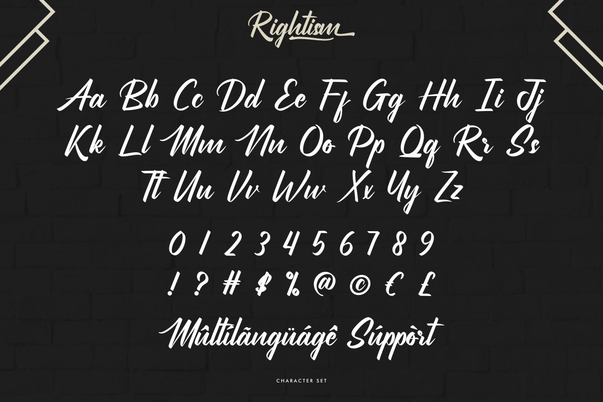 Rightism-Font-3