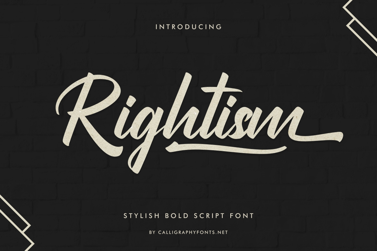 Rightism-Font