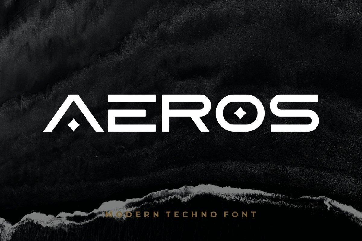 Aeros-Font