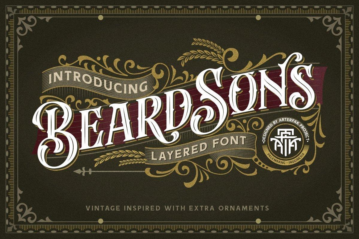 Beardsons-Font